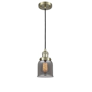 Breakwater Bay Hard 1-Light Bell Pendant