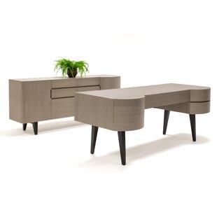 Yukon 2 Piece Desk Office Suite by Brayden Studio