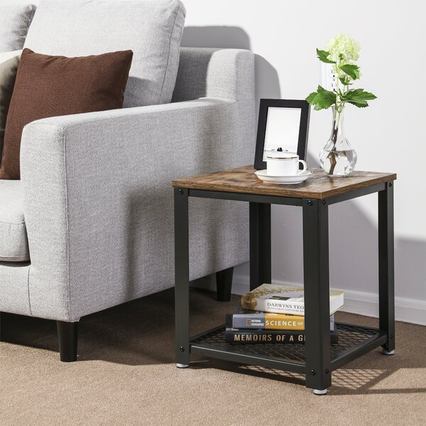 T-Day End Tables Bedside Table side table Round Wooden End ...