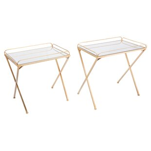 Chamberlin Opposite 2 Piece Nesting Tables by Mercer41