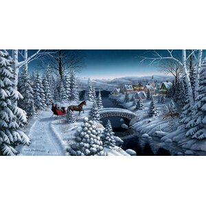 'Peace on Earth' by Mark Daehlin Painting Print