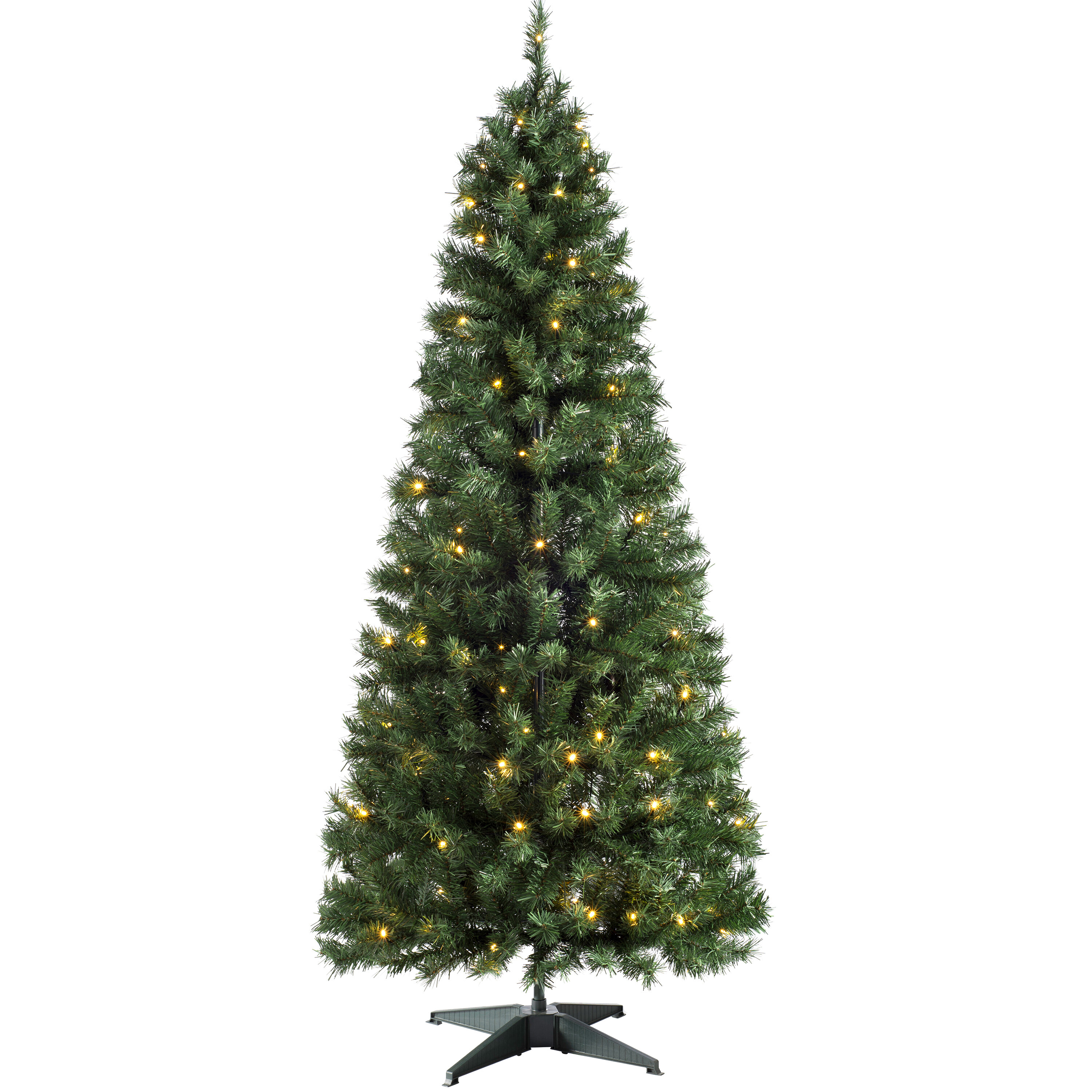 newest 6c91d d232c 6ft Green Fir Artificial Christmas Tree with 100 Clear and White Lights