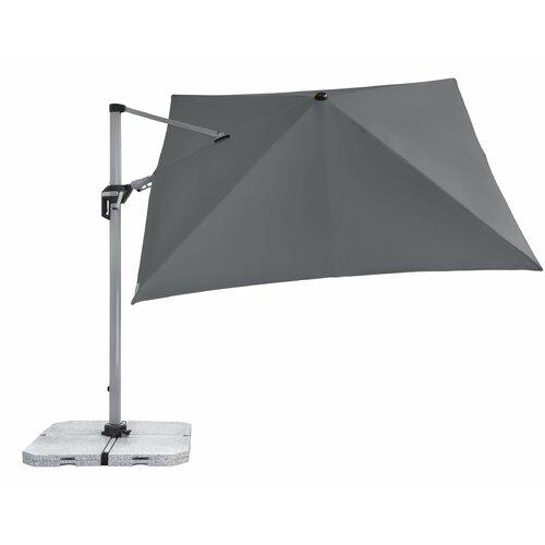 2x3m rechteckig neigbar Mendler Sonnenschirm N23 Polyester//Alu 4,5kg Gartenschirm