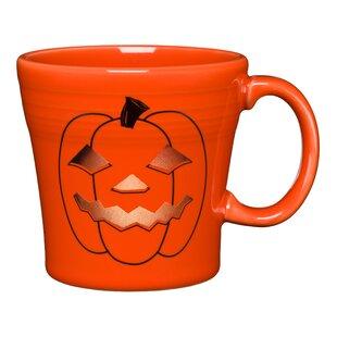 Spooky Glowing Pumpkin Coffee Mug