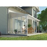 Feria 10 Ft. W Side Awning in Gray