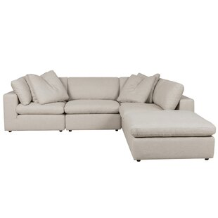Great Price Dyal Reversible Sectional by Brayden Studio