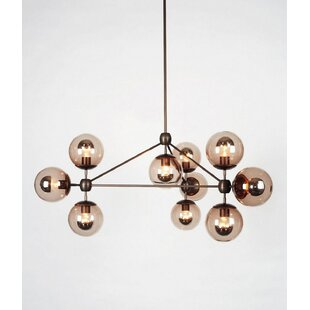Brayden Studio Lehner 10-Light Sputnik Chandelier