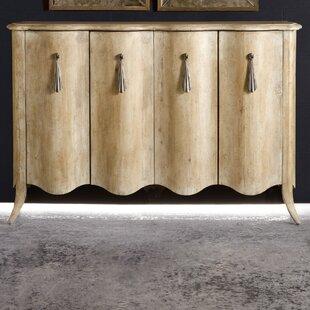 Melange Draped Sideboard by Hooker Furniture