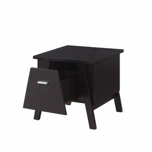 Stahura Unique Drawer End Table with Storage by Latitude Run