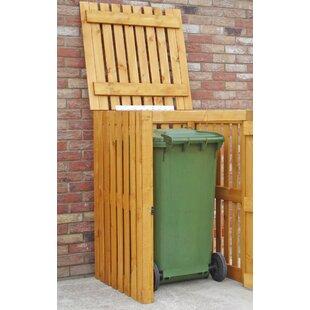Custis Wooden Single Bin Store By Rebrilliant