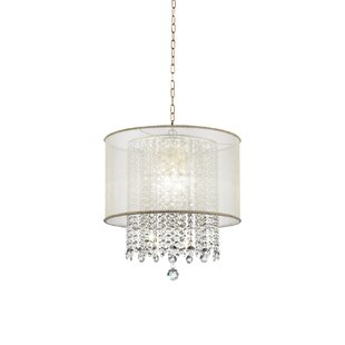 Broussard 3-Light LED Crystal Chandelier