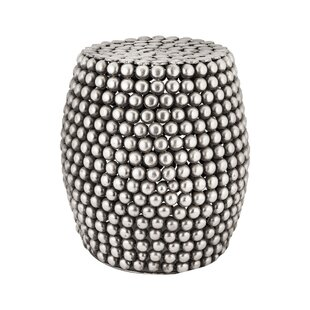 Bungalow Rose Moorhead Pebble Stool