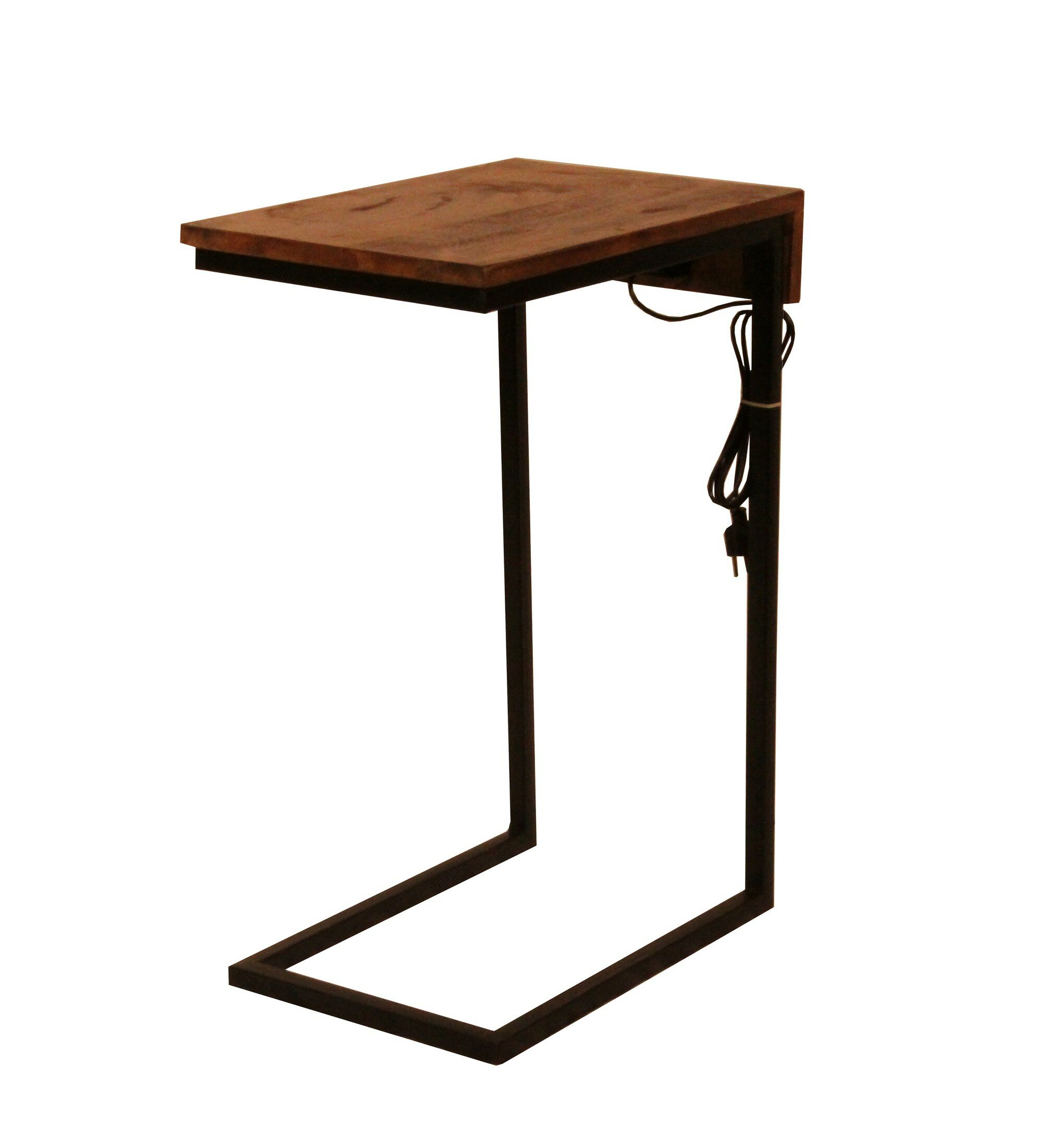 Union Rustic Waterville C Table End Table Reviews Wayfair