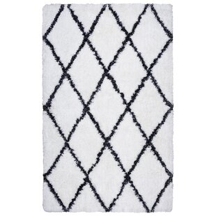 Compare & Buy Solarte Hand-Tufted White/Black Area Rug By Mack & Milo
