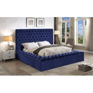 King Size Velvet Beds Youu0027ll Love | Wayfair
