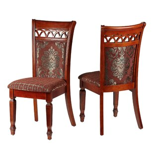 Asher Upholstered Dining Chair (Set of 2) by Cortesi Home