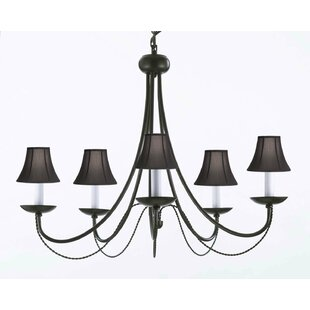 Versailles 5-Light Candle-Style Chandelier by Harrison Lane