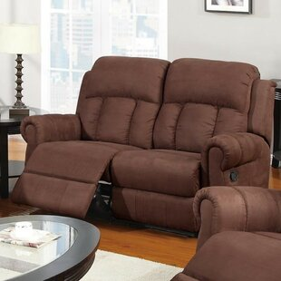 Reviews Pardo Reclining Loveseat by Winston Porter