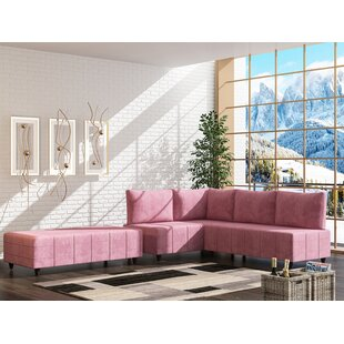 Lowndesboro Reversible Sectional with Ottoman