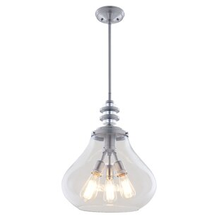 DVI El Dorado 3-Light Schoolhouse Pendant