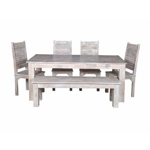 Fine Kamps 6 Piece Solid Wood Dining Set Onthecornerstone Fun Painted Chair Ideas Images Onthecornerstoneorg
