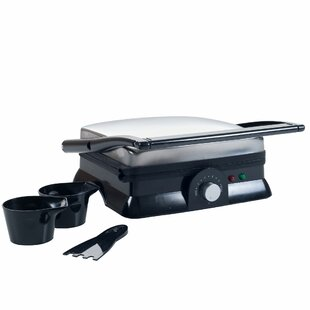 Chef Buddy Large Non-Stick Grill and Panini Press