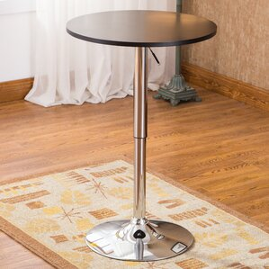 Mathison Adjustable Height Pub Table by Wade Logan