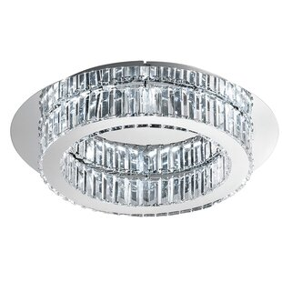 Latitude Run Awilda 1-Light Flush Mount