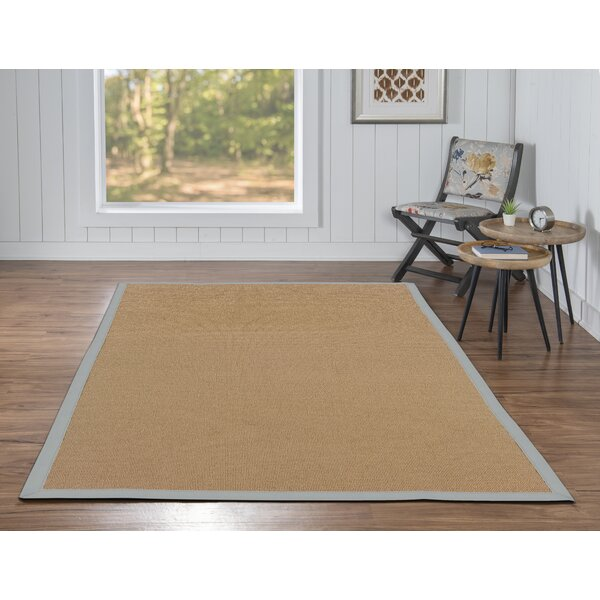 Darby Home Co Nannette Tufted Wool Cotton Beige Area Rug Wayfair