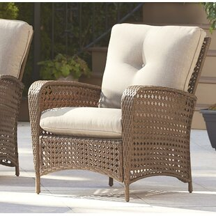 Highland Dunes Edwards Patio Chair with C..