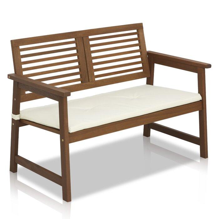 Amazing Arianna Meranti Wooden Garden Bench Machost Co Dining Chair Design Ideas Machostcouk