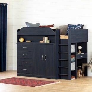 Twin Loft Bed With Desk Wayfair