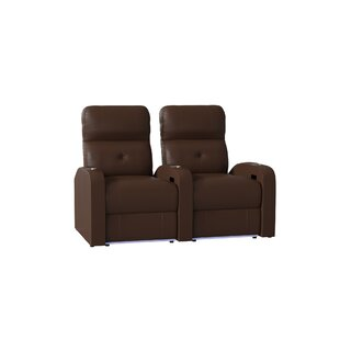 Tufted Home Theater Row Seating (Row of 2) by Latitude Run
