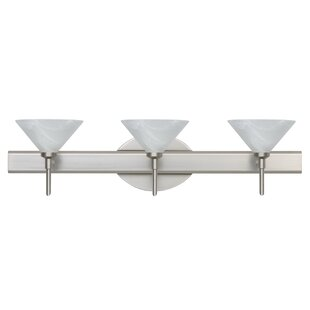 Besa Lighting Kona 3-Light Vanity Light