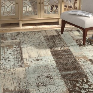 Looking for Saint-Michel Light Blue/Anthracite Area Rug ByBungalow Rose