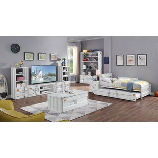 Parke Twin Platform Bed with Trundle