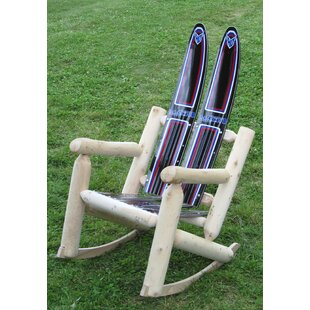 Ski Chair Water Wood Rocki..