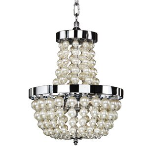 Moscato 3-Light Crystal Pendant by Glow Lighting