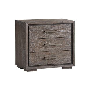 Santana Armiston 3 Drawer Nightstand