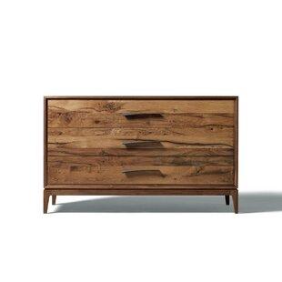 YumanMod Matteo 3 Drawer Standard Dresser