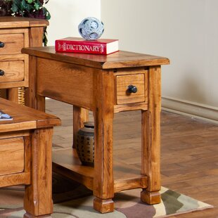 Best Price Fresno End Table by Loon Peak