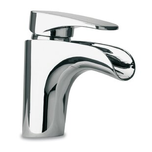 Just Manufacturing Single hole Bathroom Faucet with Drain Assembly