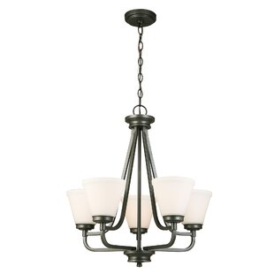 Red Barrel Studio Cintron 5-Light Shaded Chandelier