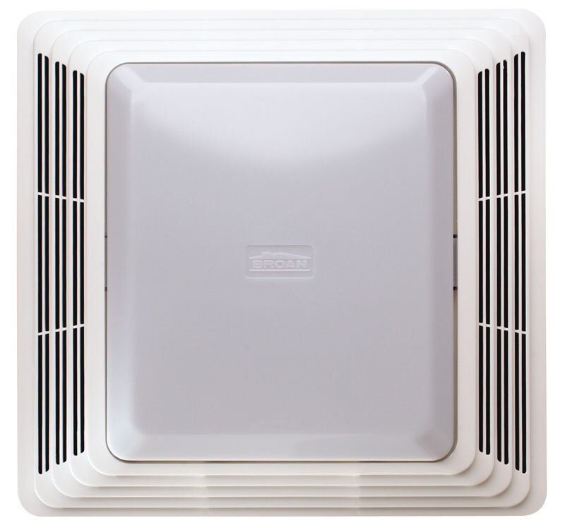 Bathroom Exhaust Fan broan 50 cfm bathroom exhaust fan with light & reviews | wayfair