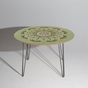 Star Mandala Dining Table East Urban Home