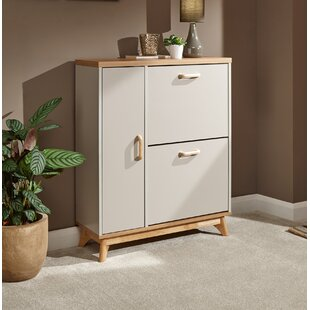 Cavanagh 14 Pair Shoe Storage Cabinet By Hashtag Home