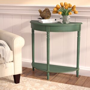 Hadenson Wood Console Table by Andover Mills