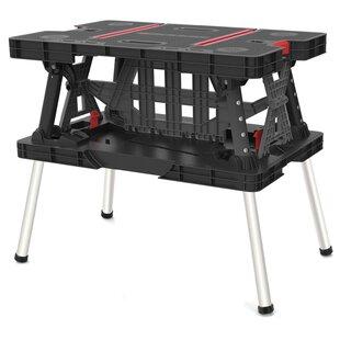 Keter Back Folding Workbench By Curver UK Ltd