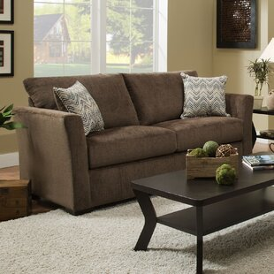 Simmons Upholstery Chestnut Sleeper Sofa