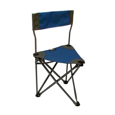 Ultimate Slacker Picnic Folding Camping Chair Travel Chair Fabric Color: Blue